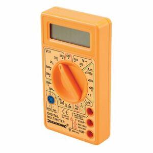 Silverline 589681 Digital Multimeter AC and DC