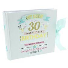signography Damen 30. Geburtstag Fotoalbum - 30. Geburtstag Geschenkidee