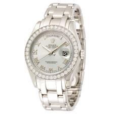 Rolex Platinum Day-Date Masterpiece Watch Ref. 18956