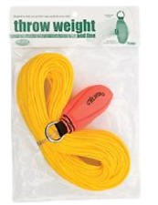 Weaver Leather Throw Weight and Line Kit Orange 16 oz