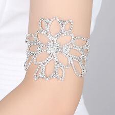 Fashion Silver Color Crystal Bracelets For Women Bridal Ankle Bracelets 8C