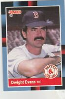 FREE SHIPPING-MINT-1988 Donruss #216 Dwight Evans Boston Red Sox Baseball Card