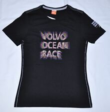 Girls PUMA Volvo Ocean Race Sailing Black Tee T-Shirt size XL $25