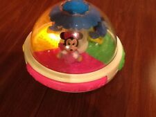 DISNEY BABIES MUSICAL TOP,PL;AYS MUSIC AND LIGHTS UP,NICE !!!!!!!!!!!