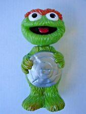 "Cute 9"" Vintage Sesame Street Oscar the Grouch Soaky great condition"