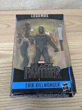 Marvel Legends Series ERIK KILLMONGER Black Panther Okoye BAF Hasbro 2017