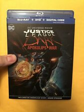 New listing Justice League Dark Apokolips War Blu-ray & Dvd With Slipcover. No Digital