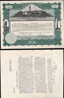 J. 0. GALLOWAY OIL INTERESTS, FORT WORTH, TX, 1923, UNCANCELLED + RELATED LETTER