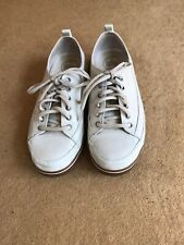 Fitflop White Leather trainers size 37