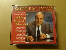 3 CD BOX / WILLEM DUYS: 35 JAAR MUZIEK MOZAIEK