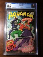 Aquaman #35 (1967) - 1st Black Manta!!! - CGC 8.0!! - Key!!
