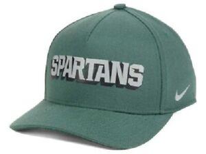 Michigan State Spartans NCAA Nike Local Dri-Fit Swoosh Flex Fitted Hat
