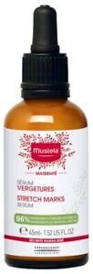 Mustela Maternity Stretch Marks Serum Fragrance-Free 45ml reduce length, width
