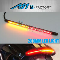 Fit Harley Davidson STORM-Z 210mm FX LED Integrated Blinker Tail Light Strip