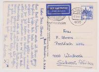 BUND, Mi. 997 EF, Lp-Karte Bad Nauheim - SWA, 2.9.85