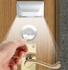 LED Smart Door Lock Sensor Lights human body Sensor lights Aisle Wall Lamp.