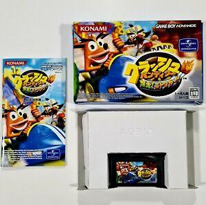 Nintendo Game Boy Advance CRASH BANDICOOT NITRO KART jap. Racing/Mariokart