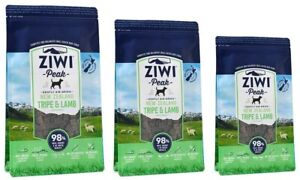 Ziwi Peak Air-Dried Tripe & Lamb Food For Dogs single protein allergies real mea
