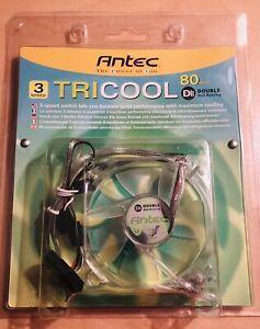 Antec 761345-75081-3 80mm 3/4 Pin Double Ball Bearing Case Fan - NEW