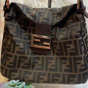 FENDI Zucca Mamma  Baguette FF Pattern Bag