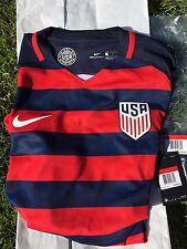 Authentic Nike 2017 USA Gold Cup Vapor Soccer Futbol Jersey BNWT L New Waldo