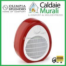 RADIATEUR SOUFFLANT OLIMPIA SPLENDID CHROME COULEURS BLANC-ROUGE Code 99606