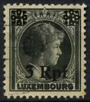 Luxembourg German Occupation 1940 SG#413, 3Rpf On 15c Black Used #D63813