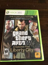 New listing Grand Theft Auto 4 & Episodes From Liberty City Xbox 360 No Map - Tested
