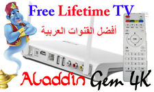 FREE FOR LIFE WORLD TV French Arabic English Channels 4K Receiver IPTV Box WiFi