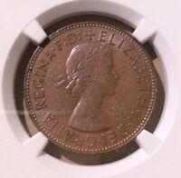 Great Britain (UK) Penny 1962 NGC AU 58 BN