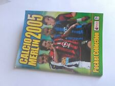 mini album stickers_CALCIO MERLIN 2005 POCKET COLLECTION SERIE A Italia_NUOVO