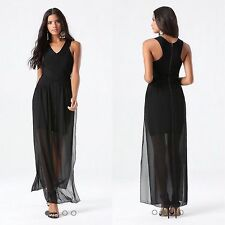 BEBE BLACK 2 FER V NECK BANDAGE DRESS NEW NWT $169 XSMALL XS