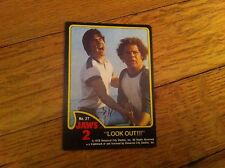 1978 JAWS 2 Motion Picture Film Movie Vintage Non-Sport Trading Card RARE LOOK