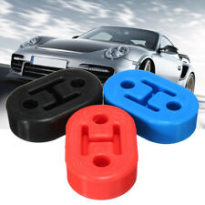 Car Rubber Exhaust Tail Pipe Mount Brackets Hanger Insulator 11mm Hole Universal