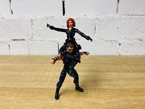 "Hawkeye & Black Widow - Marvel Universe Action Figure 3.75"" 4"" The Avengers"