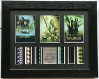 Lord of The Rings - Triple Presentation v1 Original Filmcell Memorabilia COA