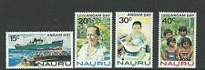 Nauru 1983 ANGAM Day set of 4 Complete MUH/MNH as Issued