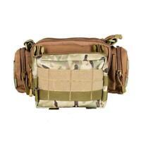 Tactical Molle Pouch EDC Multi-purpose Belt Waist Pack Utility Bag Phone Po Q2U9