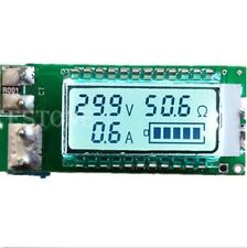 battery 18650 Lithium Li-ion tester Capacity Current Voltage Detector LCD meter