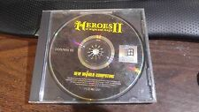 Heroes of Might and Magic II Dos Win 95 original case No front cover art