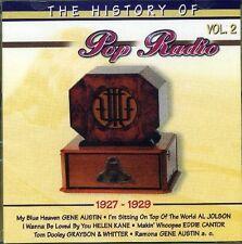 History of Pop Radio 02 (1927-29):Gene Austin, Duke Ellington & Orch., Fr.. [CD]