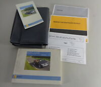 Owners Manual + Wallet Renault Megane II Cabriolet From 07/2007