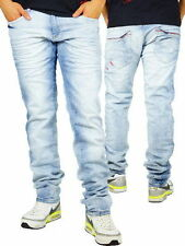 Stonewashed Herren-Jeans L34