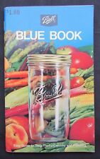 1974 Ball Blue Book Canning Book - Ball Corporation - Broomfield , CO