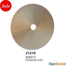 10 pouces Disque diamant abrasif pour taille Plâtre Prothese Dentaire JT-218