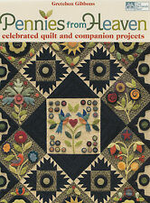 Pennies From Heaven - cotton and wool applique - quilt & projects - Martingale