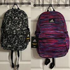 Adidas Hermosa II Mesh Backpack School Book Bag Vented NWT