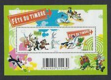 Timbres multicolores en dessins animés, BD