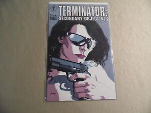 Terminator Secomdary Objectives #3 (Dark Horse 1991) Free Domestic Shipping