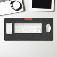 Game Mouse Pad Large Extended Warm Felt Desk Keyboard Mat Home Office Mousepad